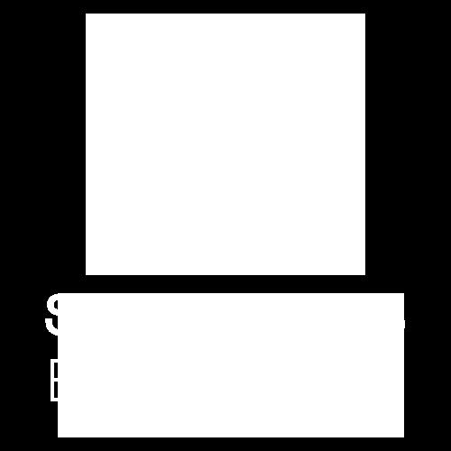 Stabergs Båtklubb logo vit